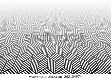 Abstract geometric textured background. Vector art. - stock vector