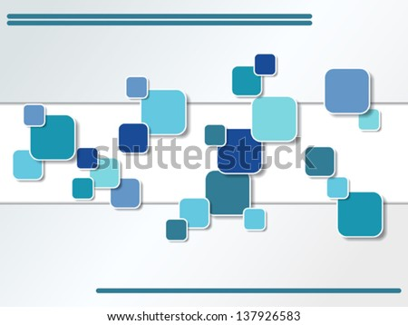 Abstract geometric vector background.