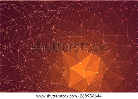 Abstract geometric vector background - eps10 - stock vector