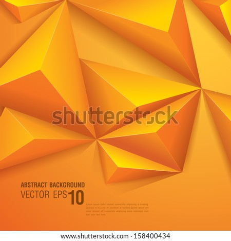 Abstract geometric vector background. Template for the poster, card, flyer ,banner, magazine cover or book cover. - stock vector