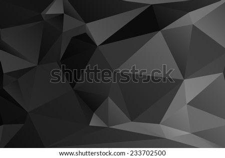 Abstract geometric vector polygon background - stock vector