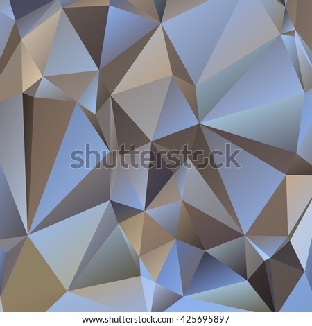 Abstract geometrical background consisting of multicolored triangular polygons