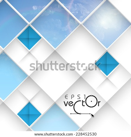 Abstract Geometrical Design.  Vector Illustration. Eps 10 - stock vector