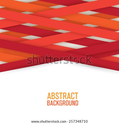 Abstract geometrical lines background - stock vector