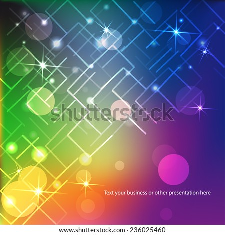 abstract geometry background for your design - stock vector