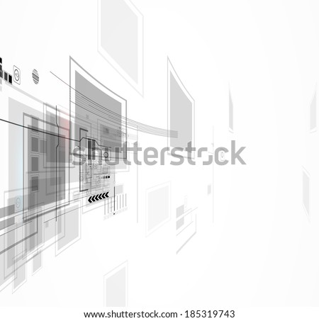 abstract global portal computer  technology concept business background