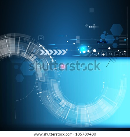 abstract global space computer  technology concept business background
