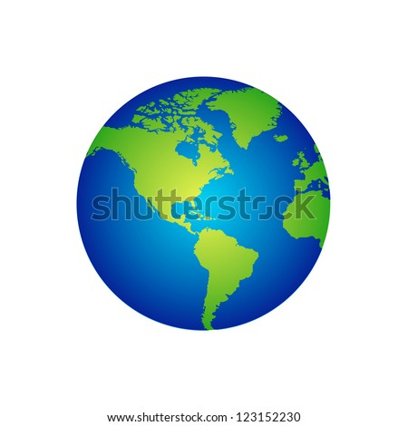 Abstract globe Vector - stock vector