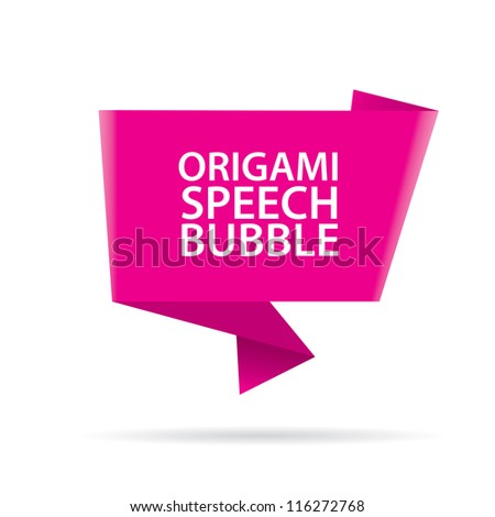 Abstract glossy green pink speech bubble. Vector abstract background. Pink brochure.