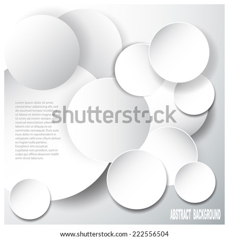 Abstract glossy  origami speech bubble. Vector abstract background. - stock vector