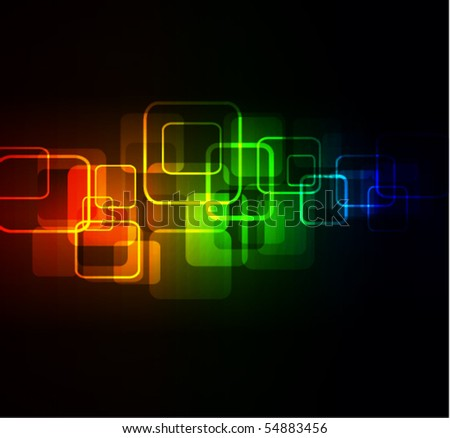 abstract glowing background,eps10 format - stock vector