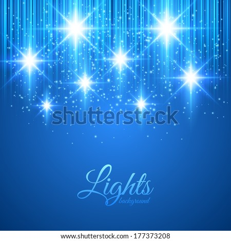 Abstract glowing background. Vector illustration for your design - stock vector