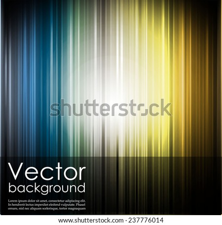 Abstract glowing background with color lines