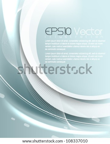 abstract glowing elegant background illustration. eps10 vector format