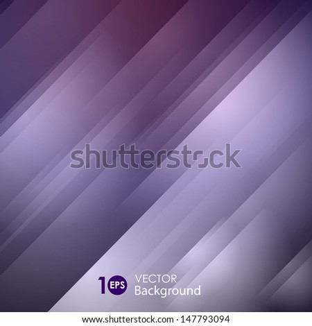 Abstract glowing striped background. Vector eps 10. - stock vector