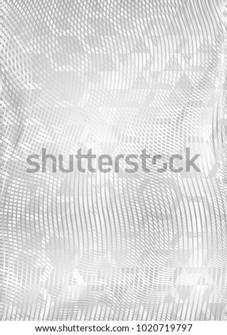 abstract goemetric background with wavy lines