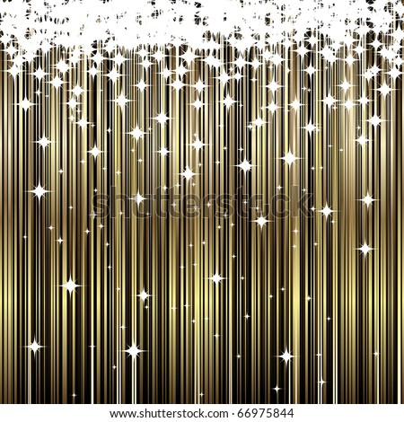 Abstract Gold background. Vector Illustration - stock vector