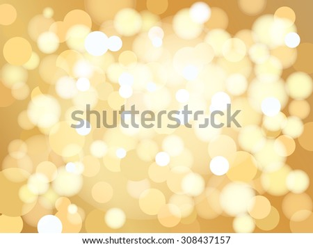 Abstract golden dotted background, vector