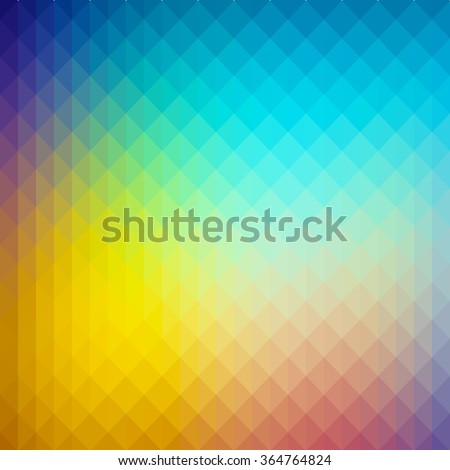 Abstract gradient art geometric background. Ideal for artistic concept works, cover designs. - stock vector