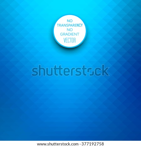 Abstract gradient art geometric background with vibrant blue color tone. Ideal for artistic concept works, cover designs - stock vector