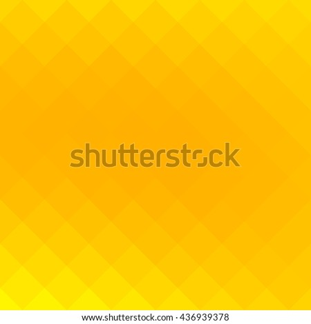Abstract gradient art geometric background with yellow vibrant color tone. Ideal for artistic concept works, cover designs. - stock vector