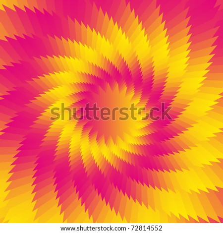 Abstract gradient vector flower background