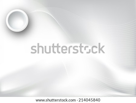 Abstract gray background image. Vector, illustration. - stock vector