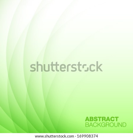 Abstract Green Background. Vector illustration - stock vector