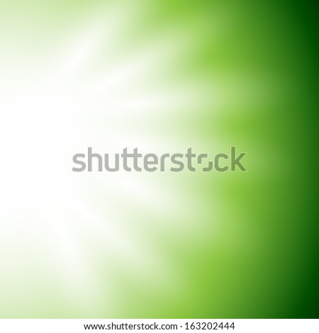 Abstract Green Background - Vector Illustration, Graphic Design Editable For Your Design  - stock vector