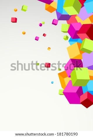 Abstract green gold border line. Vector illustration - stock vector