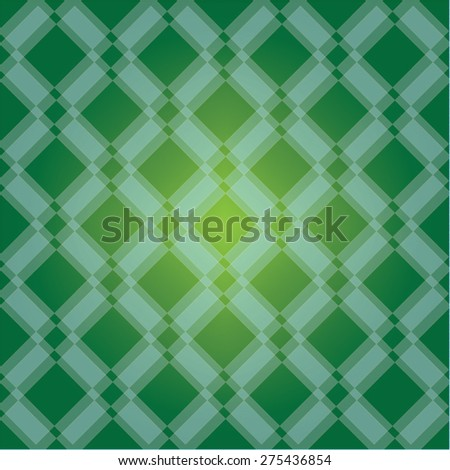 Abstract green gradient geometric background. Vector illustration.