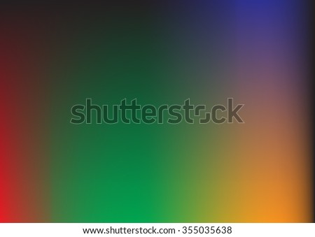 abstract green orange background with smooth gradient colors and multicolor background texture design for brochure or background for elegant Easter or Christmas background or web template