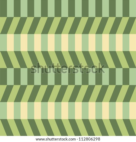 Abstract green seamless pattern - stock vector