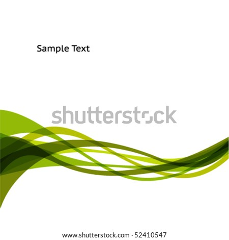 Green Abstract Background Images Abstract Green Wave Background