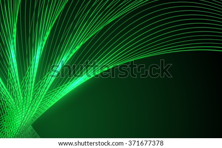 Neon Green Stock Royalty Free & Vectors #1: stock vector abstract green waves data stream concept vector clip art