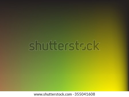 abstract green yellow background with smooth gradient colors and multicolor background texture design for brochure or background for elegant Easter or Christmas background or web template