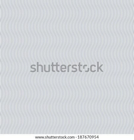 Abstract grey and white background of narrow wavy lines - stock vector