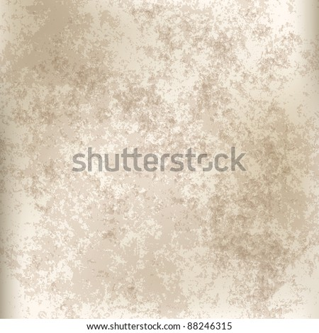 abstract grey grunge background of old paper texture - stock vector