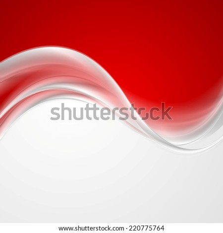 Abstract grey pearl waves background. Vector design - stock vector