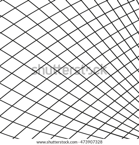 Abstract grid structure. Grid lines. Vector background
