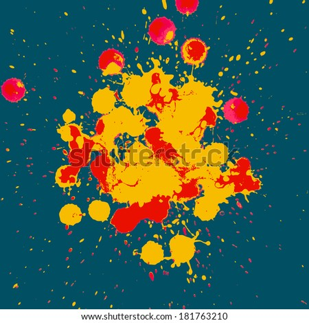 Abstract grunge artistic Background - stock vector
