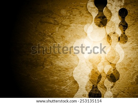 Abstract grunge background. Vector design - stock vector