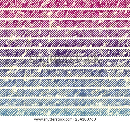 Abstract grunge background with halftone effect. vector (new style out of the ordinary geometric halftone effect).