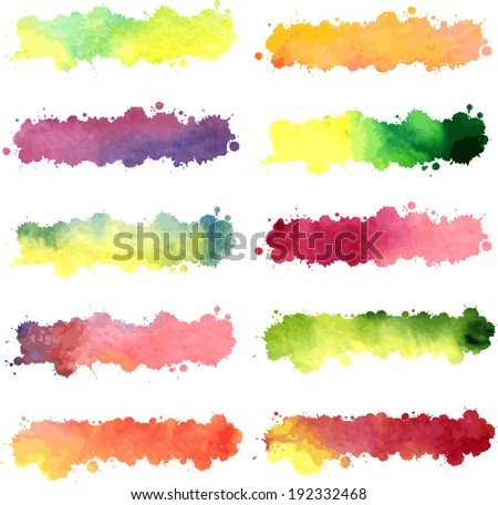 abstract grunge background with spots, vector illustration - stock vector