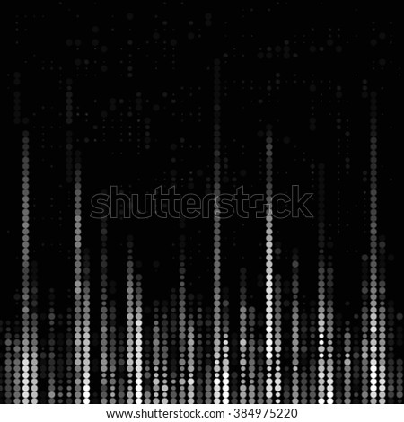 Abstract grunge grid polka dot background pattern. Spotted halftone line vector illustration