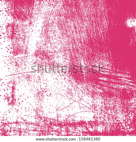 Abstract grunge painted scratched texture. EPS10 vector illustration. - stock vector