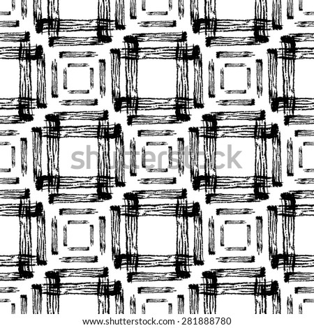 Abstract grunge seamless pattern, design element. Can be used for invitations, greeting cards, scrapbooking, print, gift wrap, manufacturing - stock vector