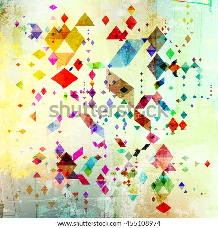 Abstract grunge style soft color gradient background. - stock vector