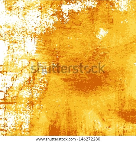 Abstract grunge watercolor background. Vintage art background. - stock vector