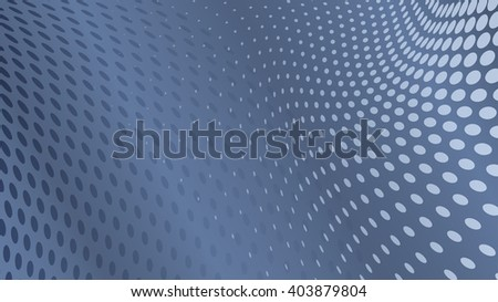 Abstract halftone dots background in dark gray colors - stock vector